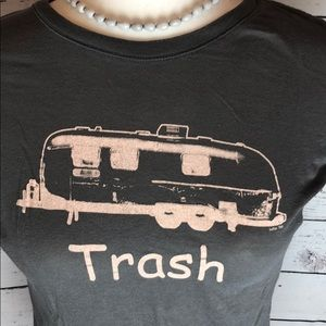 Tops - 100% Cotton Trailer Trash Tee